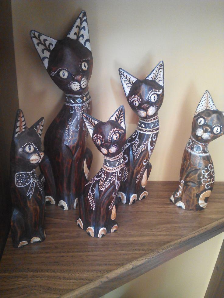 Gatos de Madera desde 5€