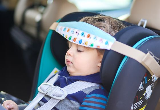 Comfy & Safe Car Seat Sleep with Slumber Sling » Daily Mom