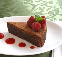 7012650907 2417f847db WARNING: Eating Chocolate Cake for Breakfast Can Make You Thin! --- it's healthy guilty pleasure!