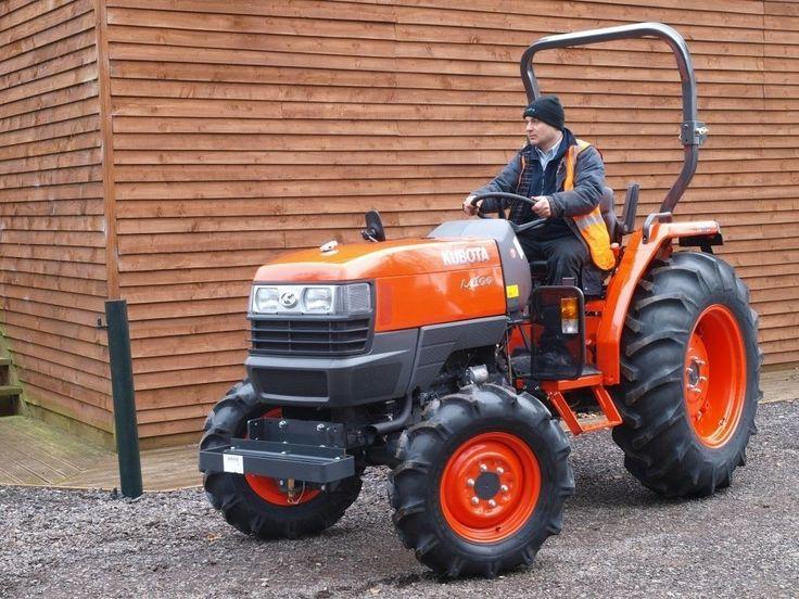 Kubota L4100 Hydrostat Traktor Allrad | eBay