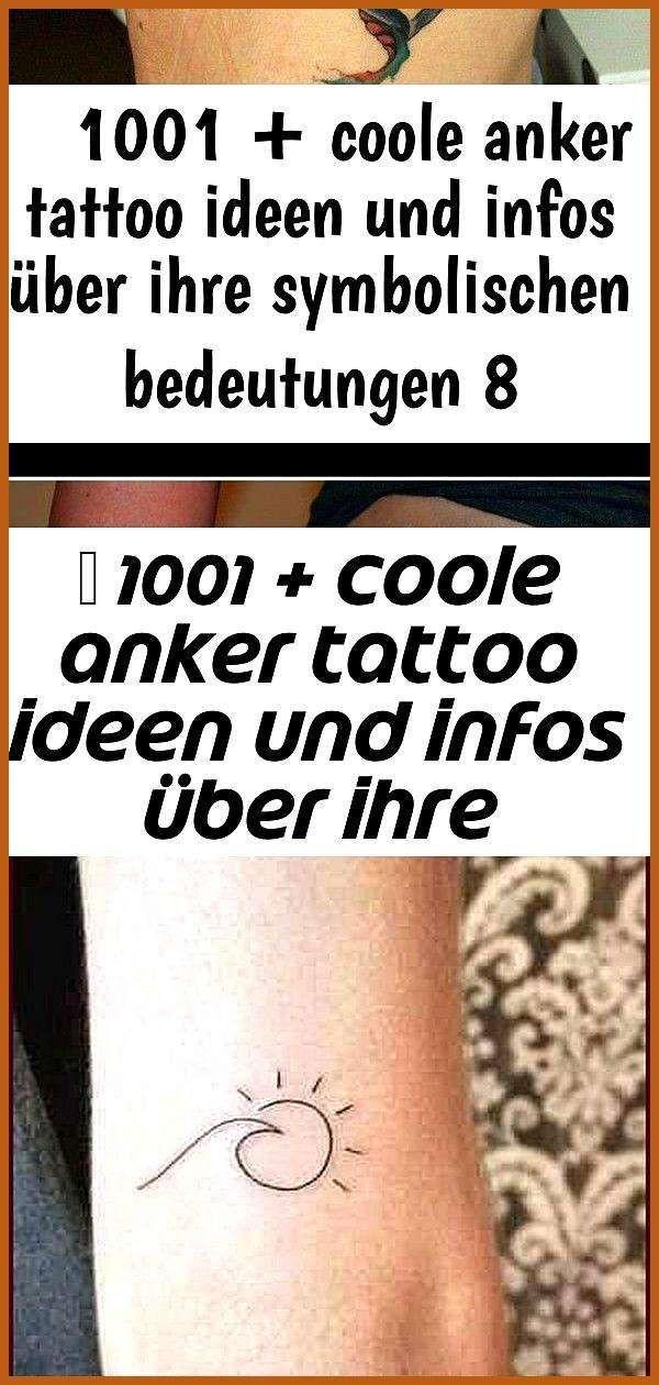 1001 Coole Anker Tattoo Ideen Und Infos Uber Ihre