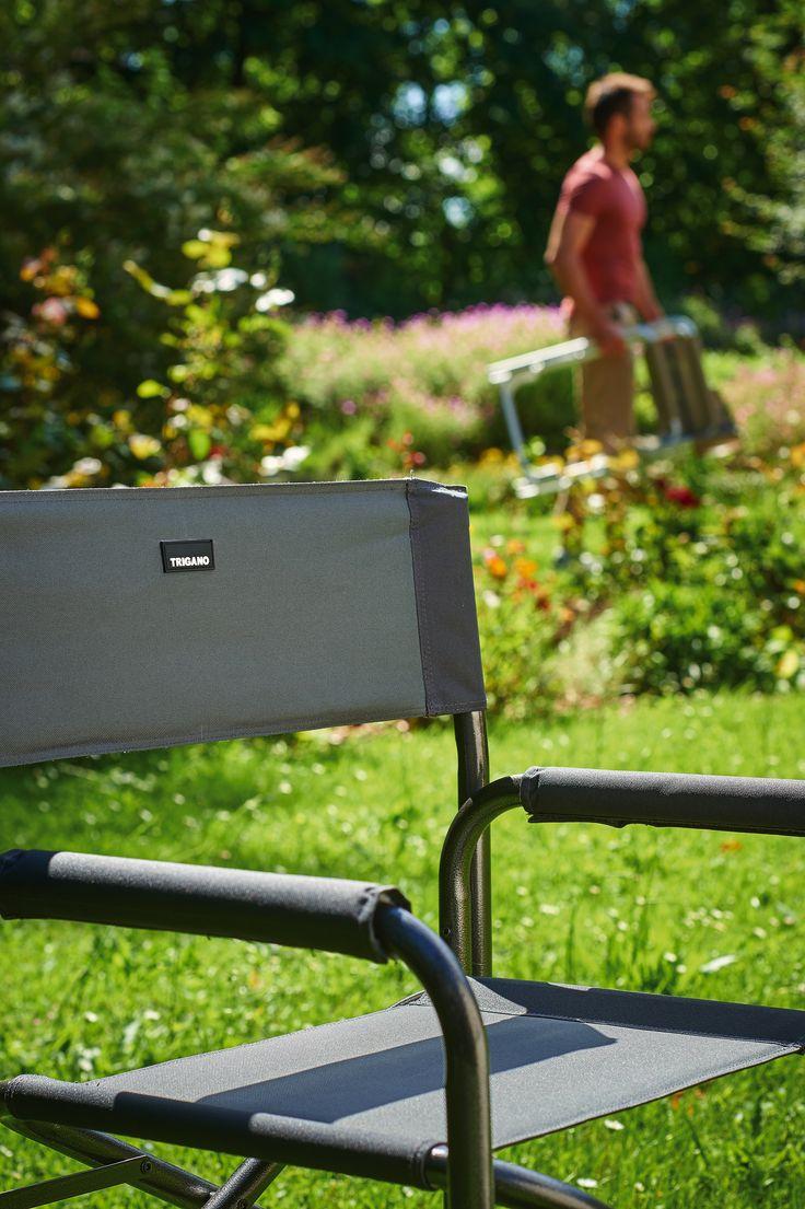 Fauteuil de camping par Trigano. Fauteuil robuste, léger et aérer pour profiter pleinement de vos vacances.  Trigano, le matériel de qualité au meilleur prix.