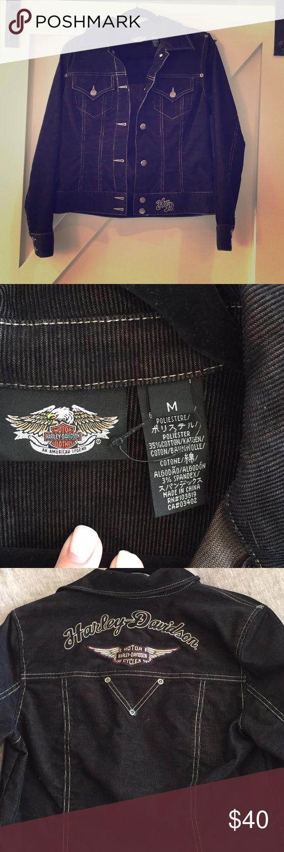 Ladies Harley Davison jacket Beautiful Harley Davidson jacket in excellent condition size medium Harley-Davidson Jackets & Coats