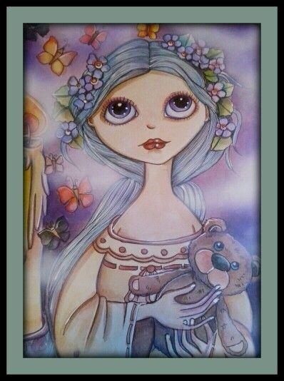 """Peonia"" ~ Lidia Gennari."