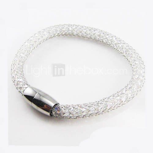 Bangles 1 stuks,Gouden / Roos / Zilver Armbanden Roestvast staal Sieraden Dames…