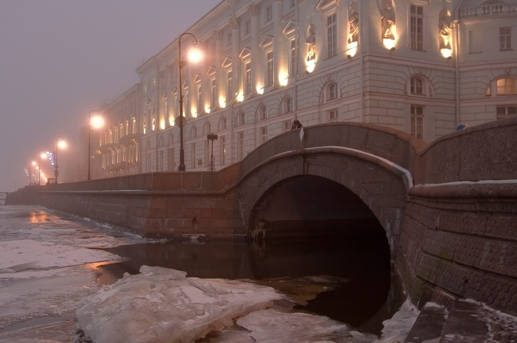 Winter in St.Petersburg.