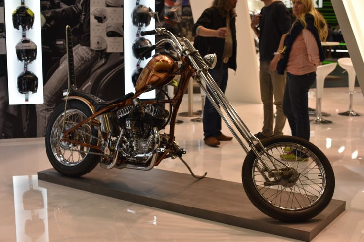 What an interesting bike!! Picture taken by Ministry of Bikes at Intermot