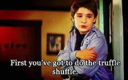 #Goonies #30thAnniversary #TruffleShuffle