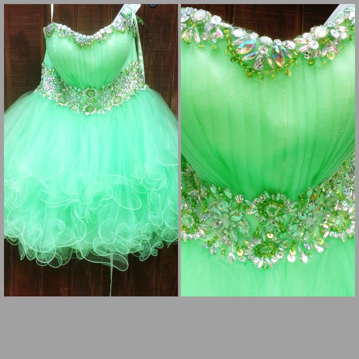 Semi Poofy Prom Dresses 25