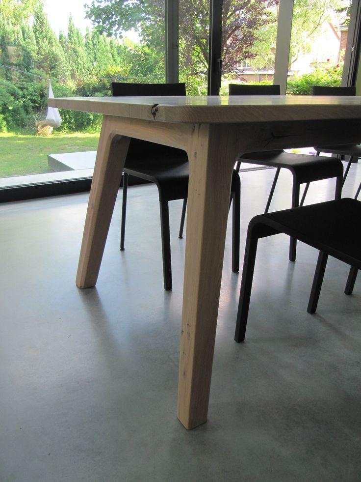 25+ beste ideeën over Eiken tafel op Pinterest - Eettafel ontwerp ...