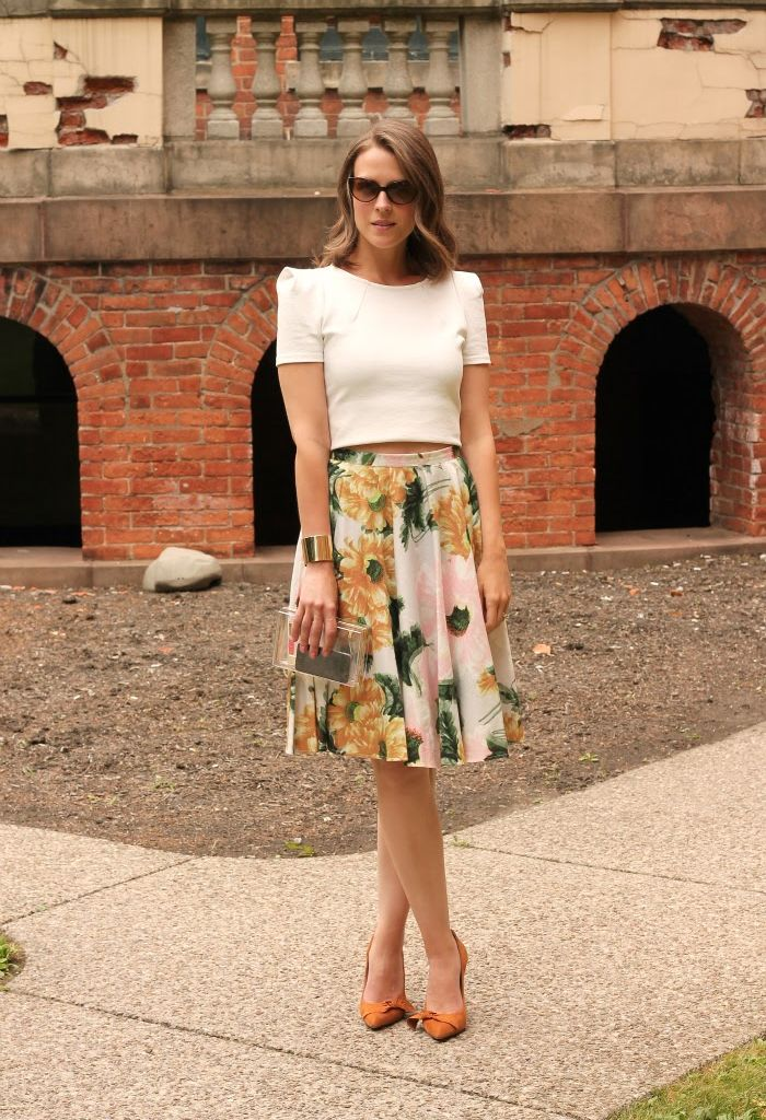 Top And Midi Skirt | Jill Dress