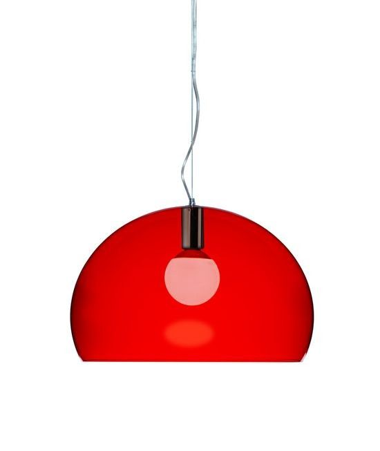 FL/Y 1 Light Suspension Bowl Pendant