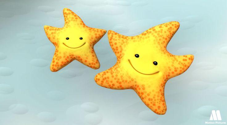 Estrella De Mar, Dibujos De Animales, Animales Del Mar