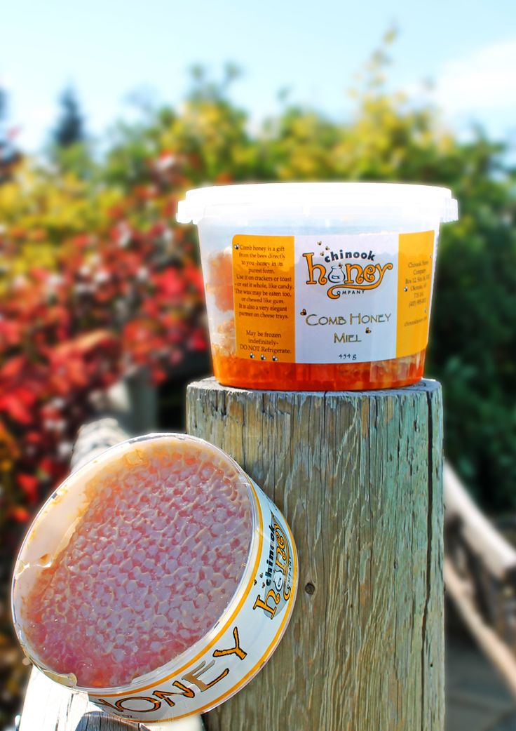 #Honey Comb comes right from the hive and is full of honey, wax, and pollen. It is very healthy, and great in many recipes.