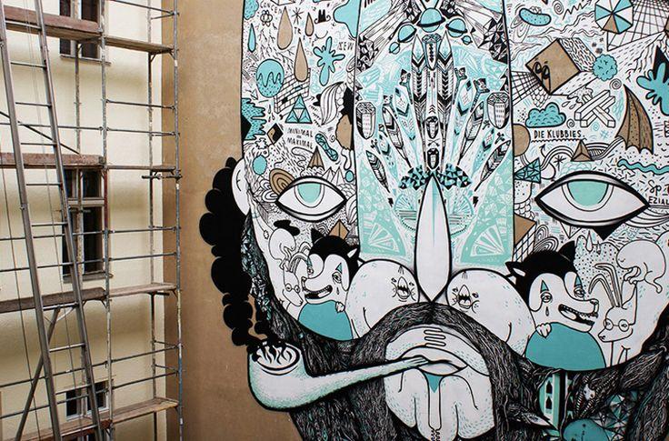 Illustration by Mike FriedrichArt Idease Inspiration, Art Design, Illustration, Street Art, Arty Parties, Mike Friedrich, Character Design, Visual Art, Creative Inspiration