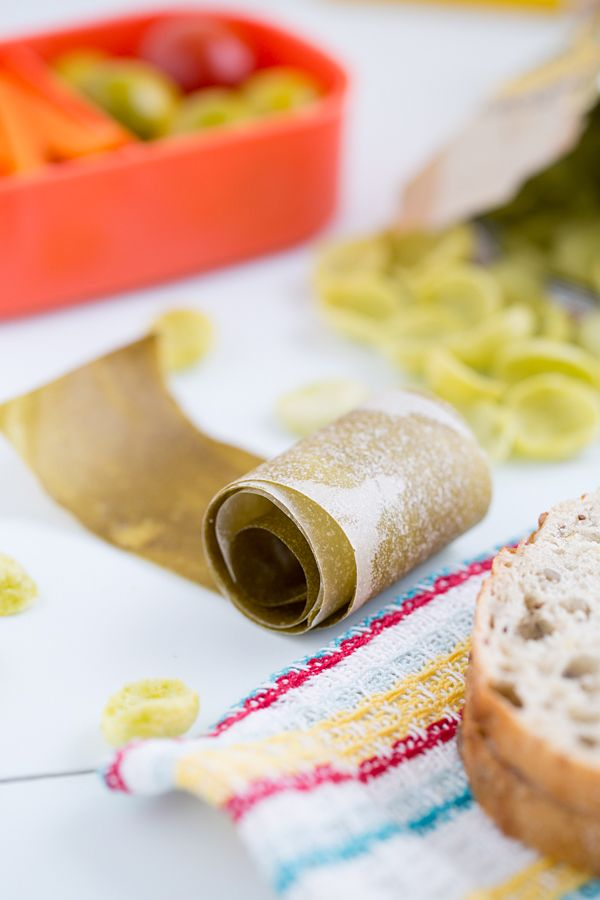 Sneaky Green Apple Fruit Leather - You won't even taste the secret healthy ingredient in this fruit leather!