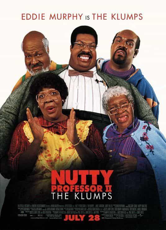Nutty Professor Ii The Klumps 2000 Directed By Peter Segal Starring Eddie Murphy And Janet Jackson El Profesor Chiflado Peliculas Comicas Ver Peliculas