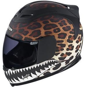 Icon Womens Airframe Sauvetage Helmet - Leopard
