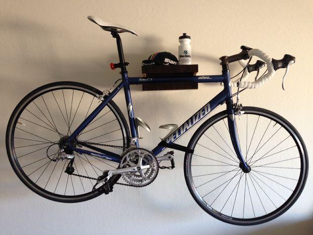 best 25 bike wall mount ideas on pinterest bicycle wall mount wall bike rack and wall mount. Black Bedroom Furniture Sets. Home Design Ideas