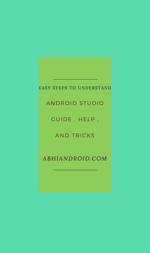 Android Studio is the official IDE (integrated development environment) for developing #Android #Apps by Google. It is based on  JetBrains' IntelliJ #IDEA #software and has lots of amazing features which helps #developer in creating #AndroidApp.