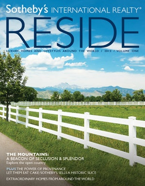 Reside offers Ranches and Mountain Homes in this issue.