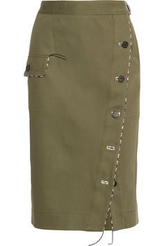 Altuzarra   Curry cotton-blend twill skirt   NET-A-PORTER.COM