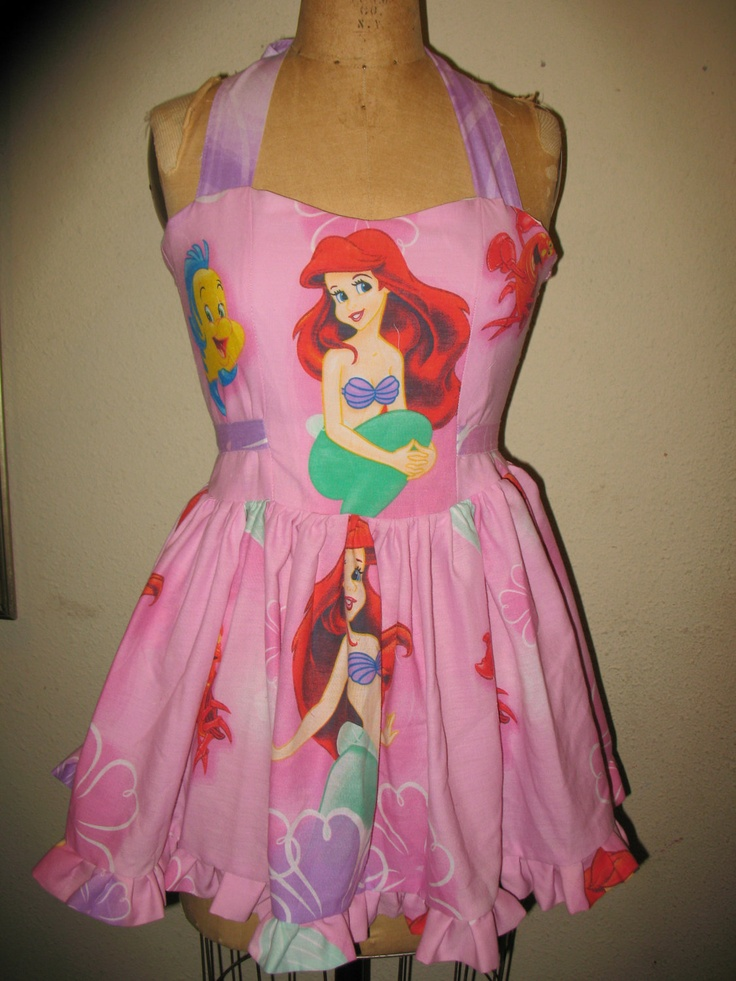 Ariel The Little Mermaid SweetHeart Ruffled by SweetHeartClothing, $135.00