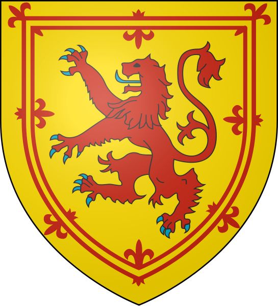 scottish flag lion