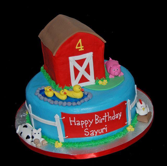 19 best 3D Barn Cakes images on Pinterest Barn cake Birthday