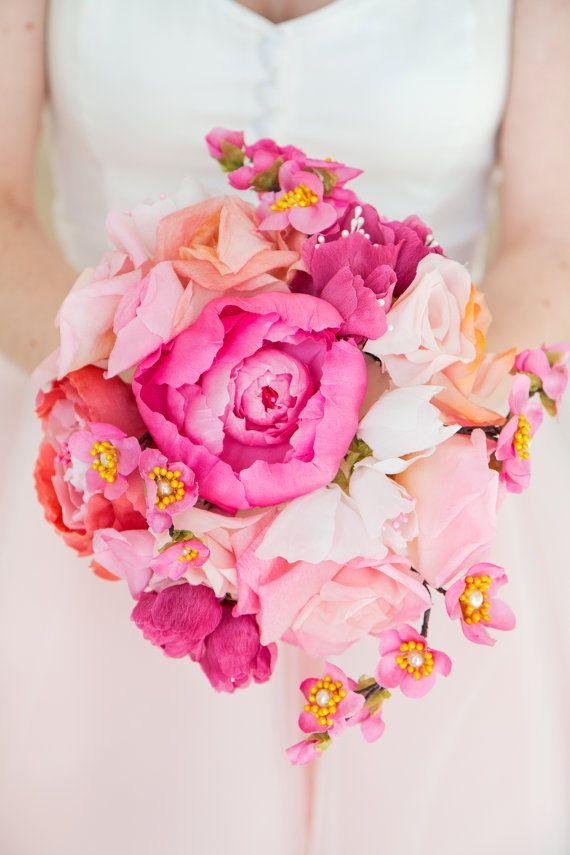 Les 25 meilleures id es de la cat gorie bouquet de fleurs de cerisier sur pin - Idee de bouquet de fleurs ...