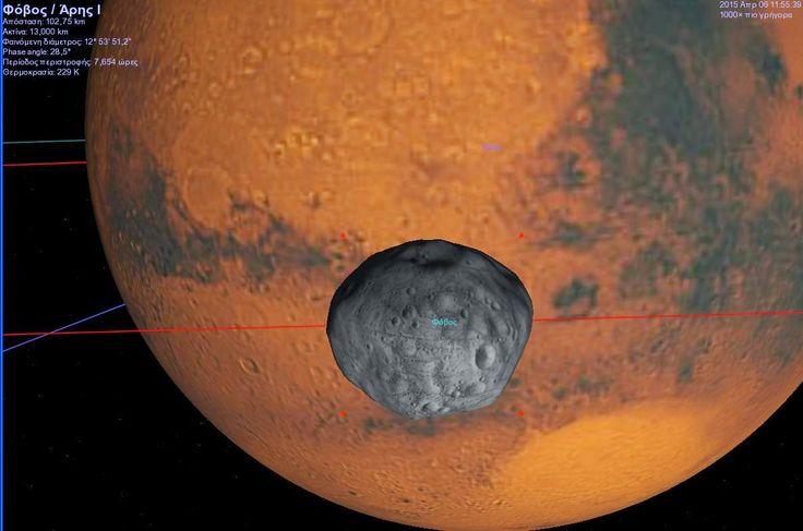 Ο Δορυφόρος του Άρη - Φόβος