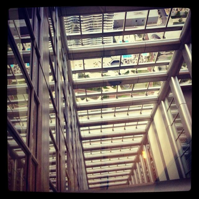 300 East Randolph's elevator shaft...big drop!: Shaftbig Drop, Elevator Shaftbig