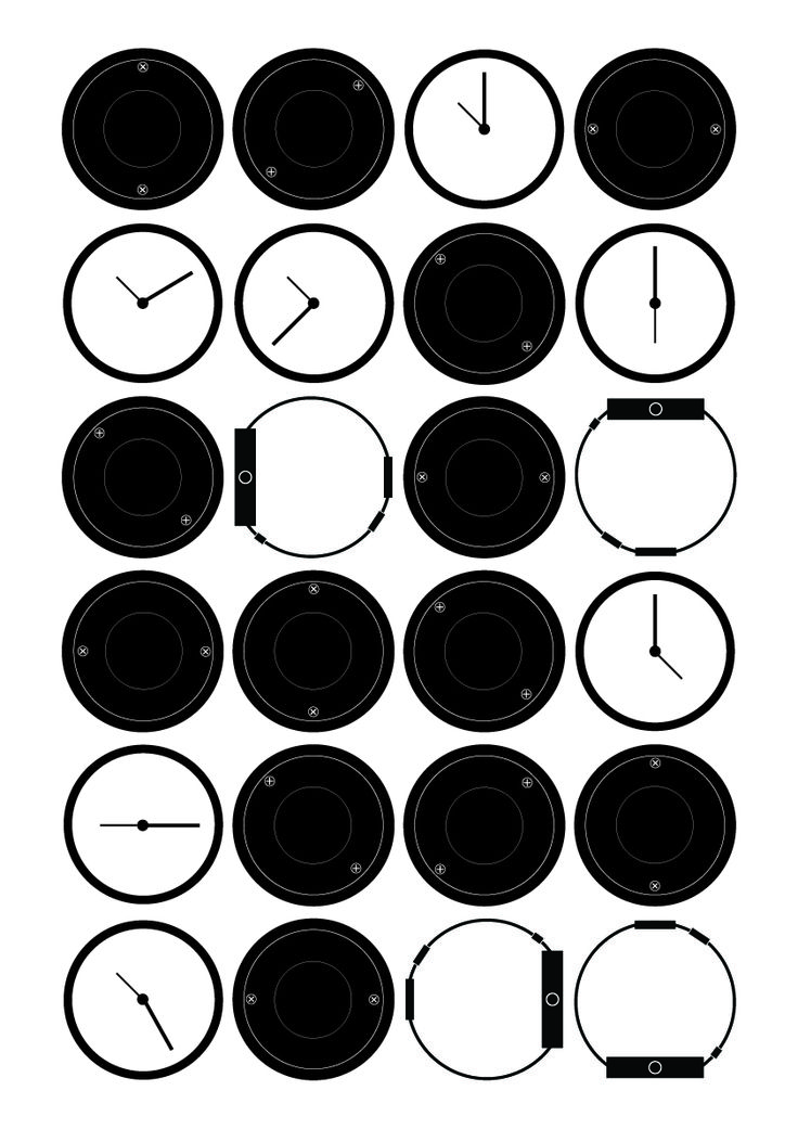clocks, composition, design _2015 by su jin kim