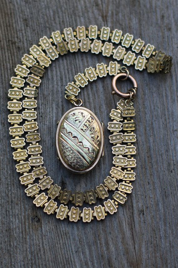 products shop compact gold ct pendants antique the necklace vintage lockets hallmarked and chains