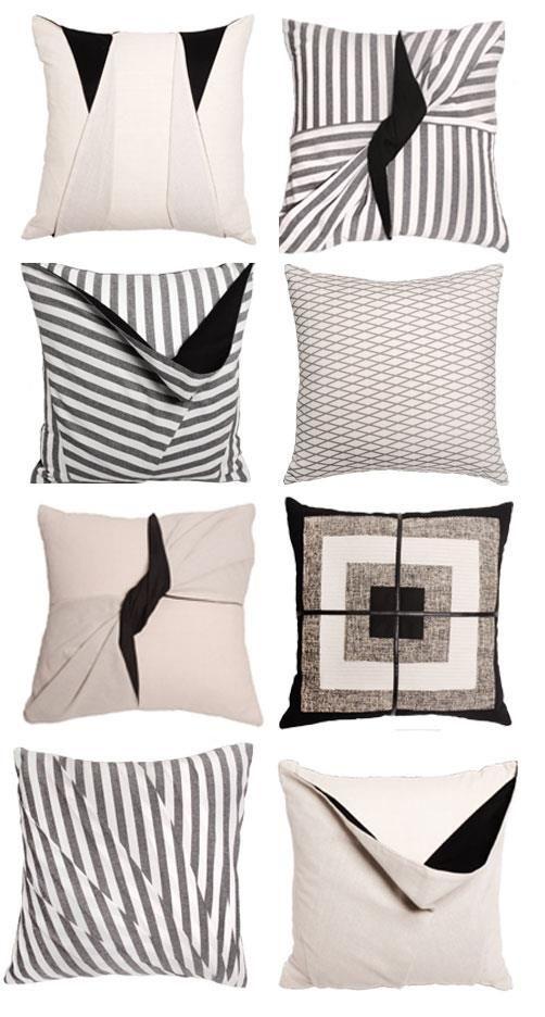 Stone textile pillows