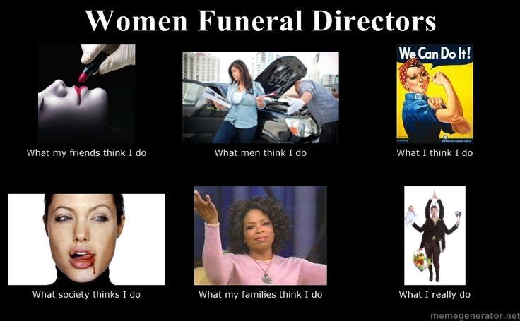 Women Funeral Directors- CONFESSIONS OF A FUNERAL DIRECTOR