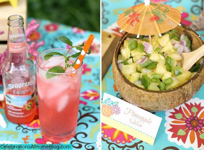 Tropical Themed Party — Celebrations at Home: