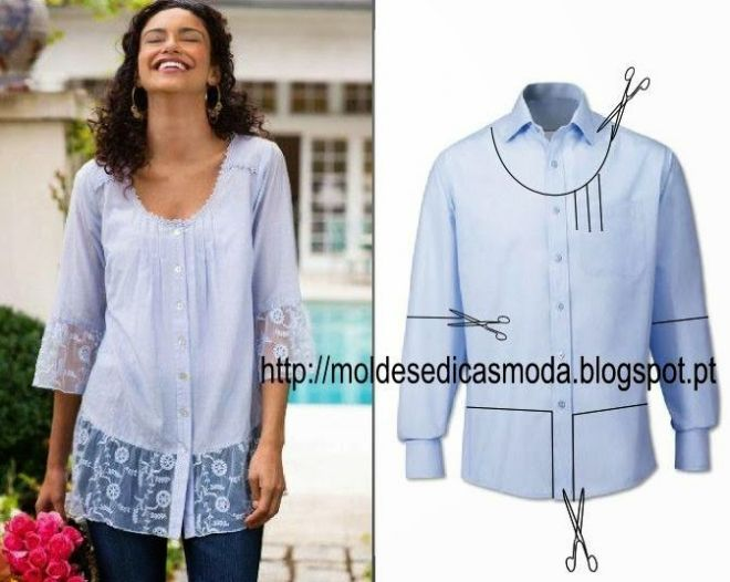 Free patterns and ideas clothing alterations - a huge selection (lots of pictures)