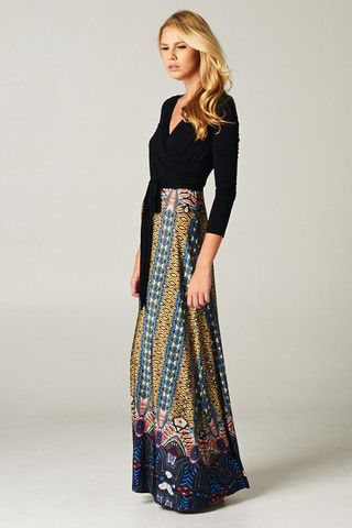This boho-chic dress calls to me. And..I assume I'll look JUST like this model when I wear it. #sarcasm #Gypsysoulcollective