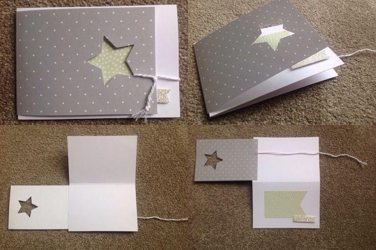 Stampin'Up Kartenset Ereignisse, Weihnachtskarte, Sternenkarte