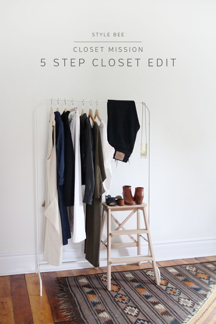 Style Bee - 5 Step Closet Edit