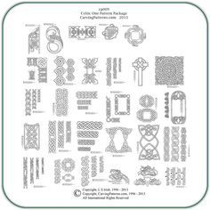 Celtic bordering designs
