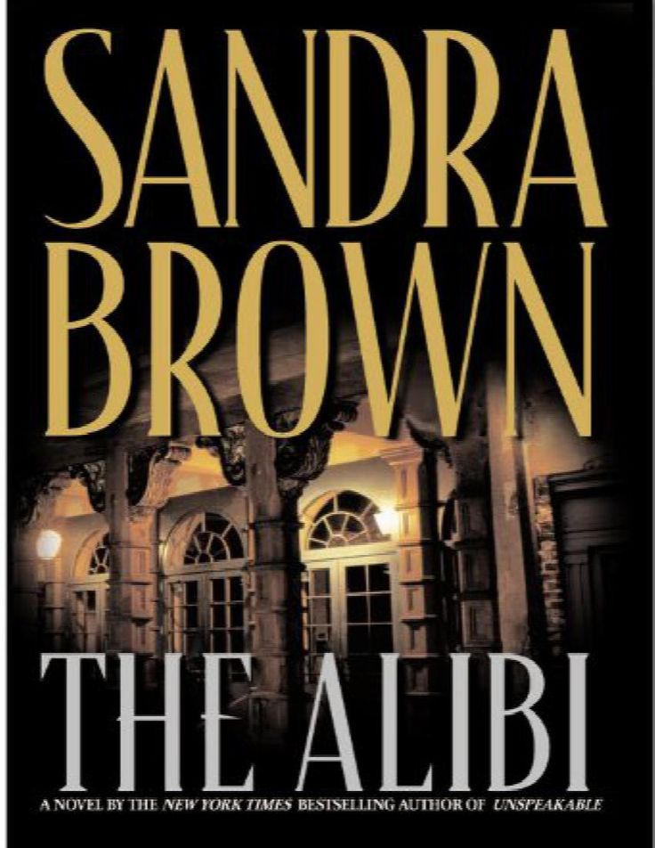 The Alibi by Sandra Brown (1999, Hardcover)