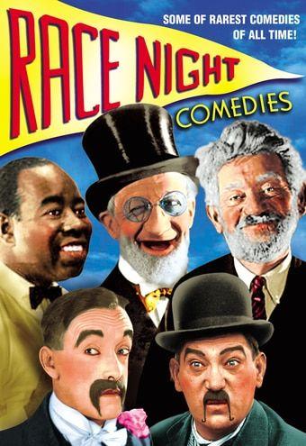 "Race Night Comedies DVD-R (1933) Directed by Andrew L. Stone; Starring 'Snub' Pollard, Hank Mann, Fred ""Snowflake"" Toones, Phil Dunham, Jack Duffy, Max Davidson, Heinie Conklin, Jerry Mandy & Harry Bowen; Alpha Video | OLDIES.com"
