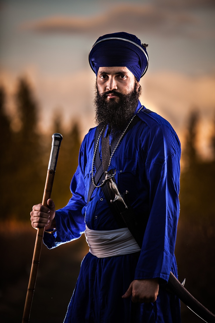 www.AmritPhotography.com www.Facebook.com/AmritMedia Sikh, Portrtait, Nihung Singh, Nihang, Punjabi, Soldier, Lighting, Outfit, Turban, Gursikh, Indian