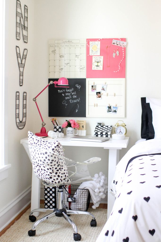 3 styling tips for a chic study space