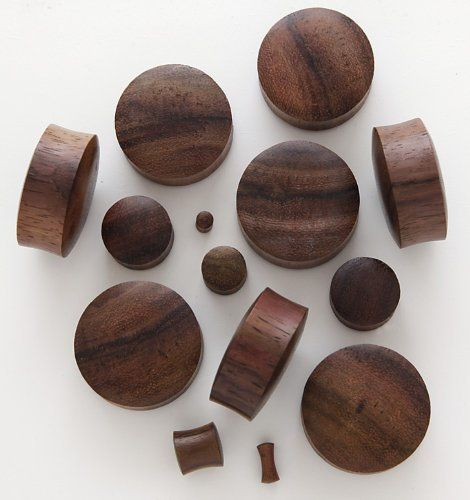 100% Handmade Organic Solid Brown Sono Wood Ear Plugs - 2 gauge / 6mm by UniqueLaserEngraving, http://www.amazon.com/dp/B007YV2F5G/ref=cm_sw_r_pi_dp_jPDwqb18BRKH5