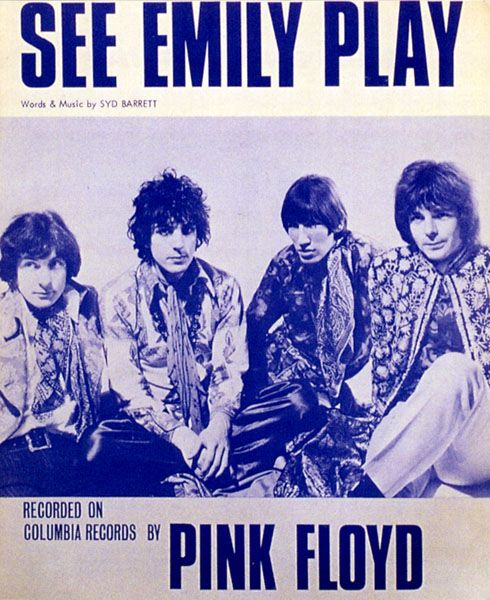 PINK FLOYD - See Emily Play - UK ORIGINAL SHEET MUSIC. I've been introduced to this :)
