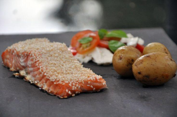 Laks i ovn - Fantastisk og kan laves af alle, Danmark,Mors dag, Hovedret, Fisk, opskrift