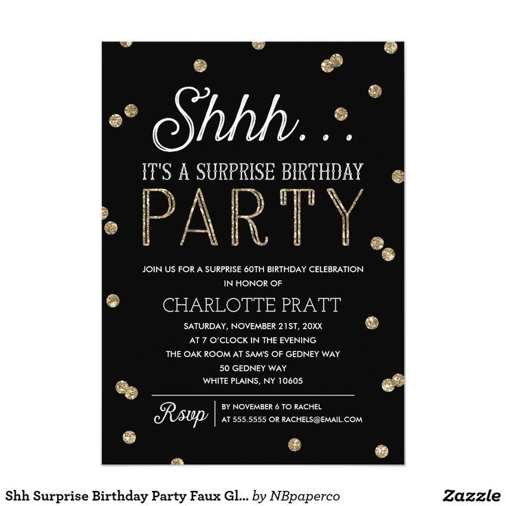 Best Adult Birthday Invitations Images On Pinterest - 21st birthday invitations gold coast